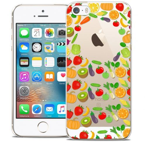 Coque Crystal iPhone 5/5s/SE Extra Fine Foodie - Healthy