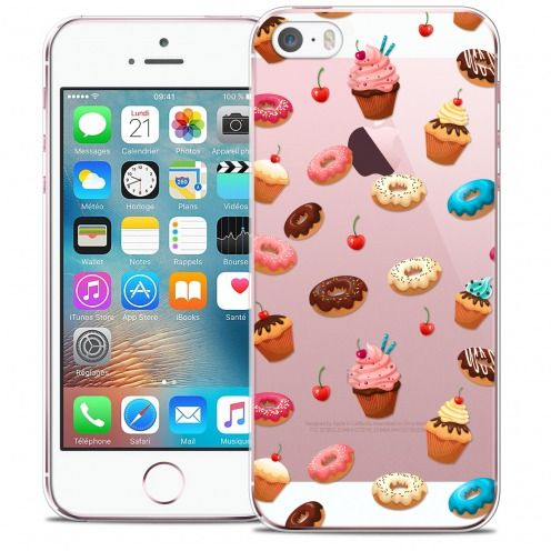 Coque Crystal iPhone 5/5s/SE Extra Fine Foodie - Donuts