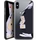 "Coque Crystal Gel Apple iPhone Xs / X (5.8"") Extra Fine Motif -  Cartes Magiques"
