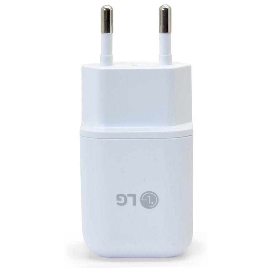 Chargeur Secteur LG USB Type C 3A Pour LG G5 Blanc