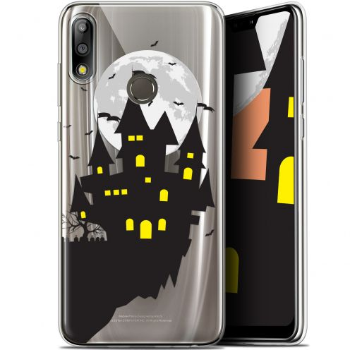 "Coque Gel Asus Zenfone Max Pro (M2) ZB631KL (6.26"") Extra Fine Halloween - Castle Dream"
