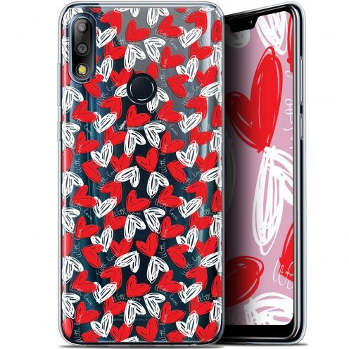 """Coque Gel Asus Zenfone Max Pro (M2) ZB631KL (6.26"""") Extra Fine Love - With Love"""