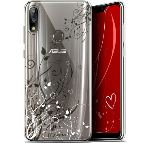 "Coque Gel Asus Zenfone Max Pro (M2) ZB631KL (6.26"") Extra Fine Love - Hearts Flowers"
