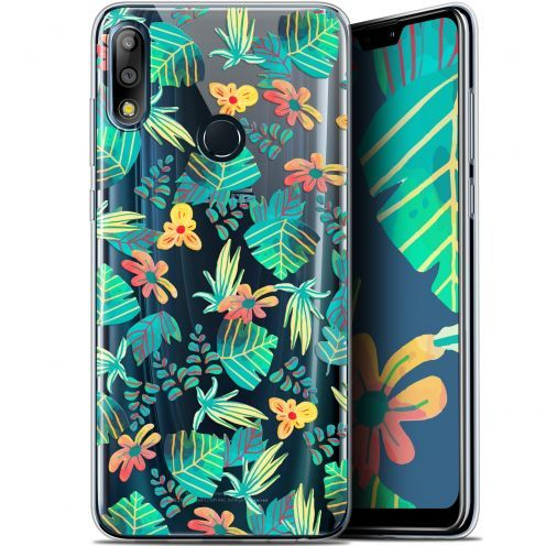"Coque Gel Asus Zenfone Max Pro (M2) ZB631KL (6.26"") Extra Fine Spring - Tropical"