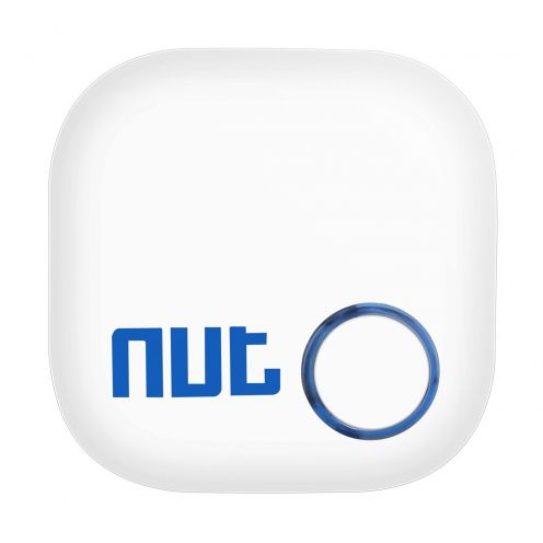 Smart Tracker Nut® 2 Porte clef Anti-perte Bluetooth Blanc