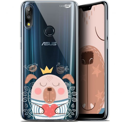 "Coque Gel Asus Zenfone Max Pro (M2) ZB631KL (6.26"") Extra Fine Motif -  Sketchy Dog"