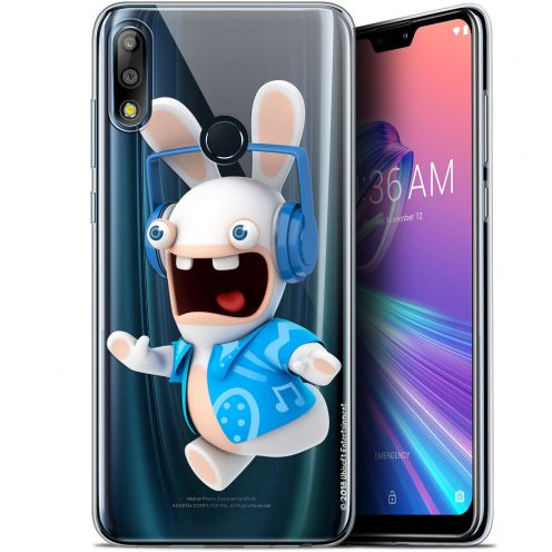 "Coque Gel Asus Zenfone Max Pro (M2) ZB631KL (6.26"") Extra Fine Lapins Crétins™ - Techno Lapin"