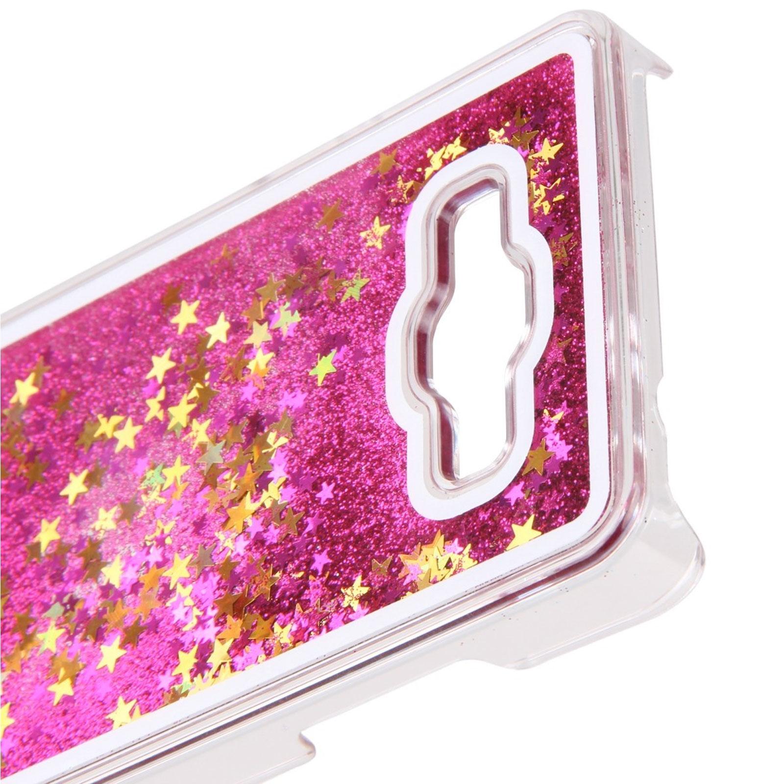 Coque Crystal Glitter Liquid Diamonds Rose Samsung Galaxy Grand ...