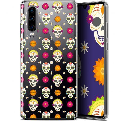 """Coque Gel Huawei P30 (6.1"""") Extra Fine Halloween - Skull Halloween"""