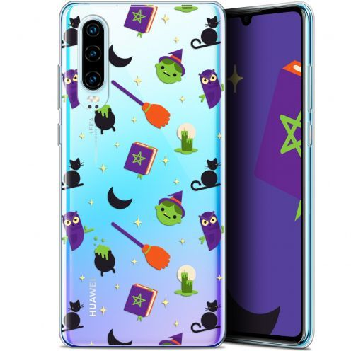 """Coque Gel Huawei P30 (6.1"""") Extra Fine Halloween - Witch Potter"""