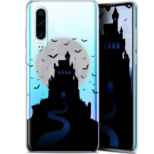 """Coque Gel Huawei P30 (6.1"""") Extra Fine Halloween - Castle Nightmare"""