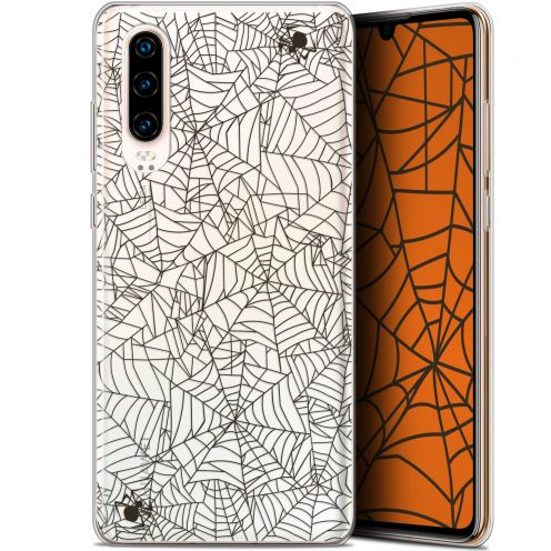 "Coque Gel Huawei P30 (6.1"") Extra Fine Halloween - Spooky Spider"