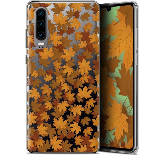 "Coque Gel Huawei P30 (6.1"") Extra Fine Autumn 16 - Feuilles"