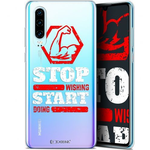 "Coque Gel Huawei P30 (6.1"") Extra Fine Quote - Start Doing"
