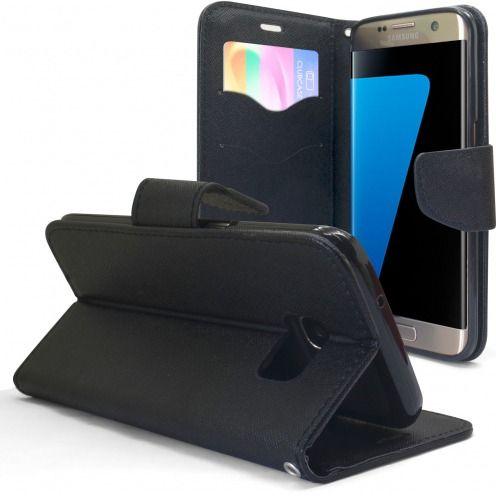 Etui Samsung Galaxy S7 Edge Slim Folio Soft Magnet Noir
