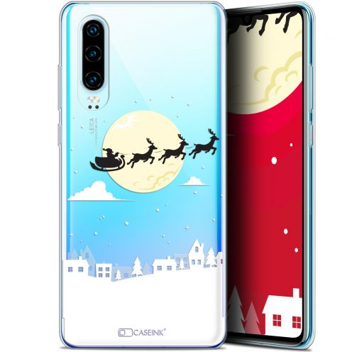 "Coque Gel Huawei P30 (6.1"") Extra Fine Noël 2017 - Flying Stanta"