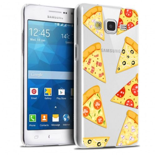 Coque Crystal Galaxy Grand Prime Extra Fine Foodie - Pizza