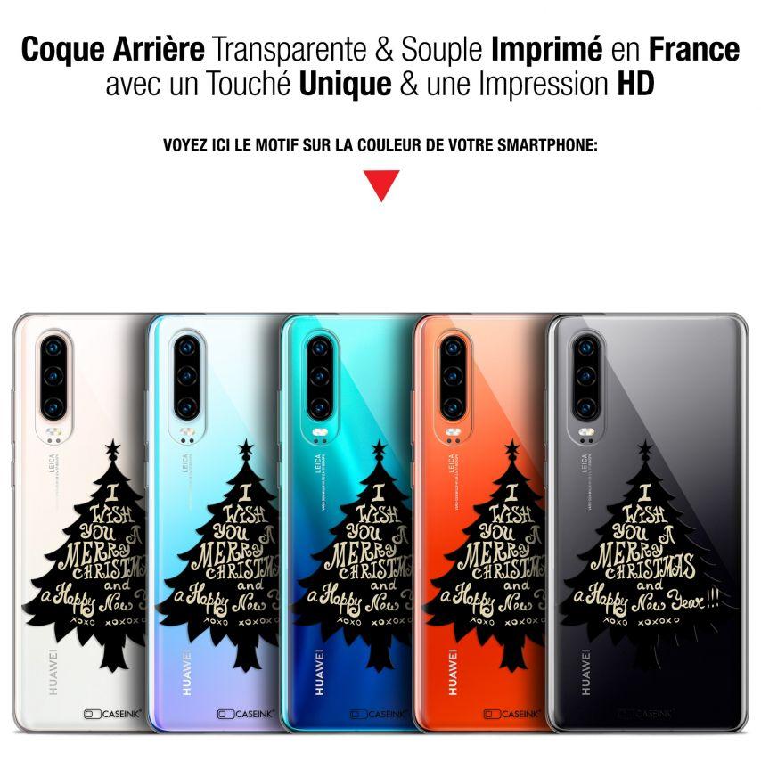 "Coque Gel Huawei P30 (6.1"") Extra Fine Noël 2017 - XOXO Tree"