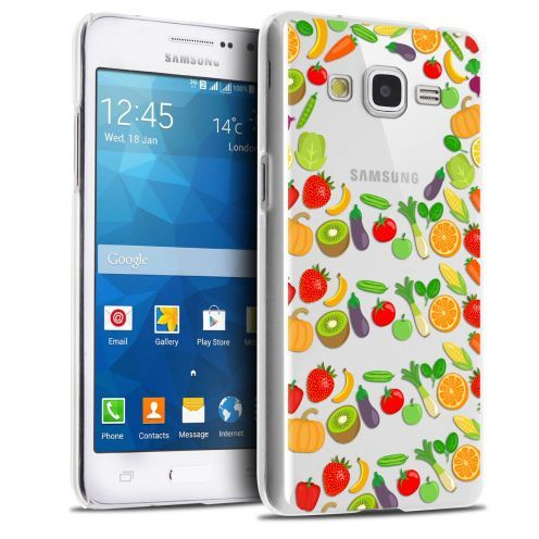 Coque Crystal Galaxy Grand Prime Extra Fine Foodie - Healthy