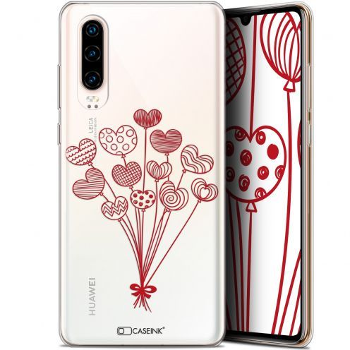 "Coque Gel Huawei P30 (6.1"") Extra Fine Love - Ballons d'amour"