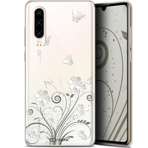 "Coque Gel Huawei P30 (6.1"") Extra Fine Summer - Papillons"