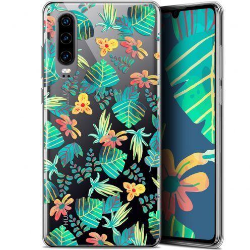 """Coque Gel Huawei P30 (6.1"""") Extra Fine Spring - Tropical"""