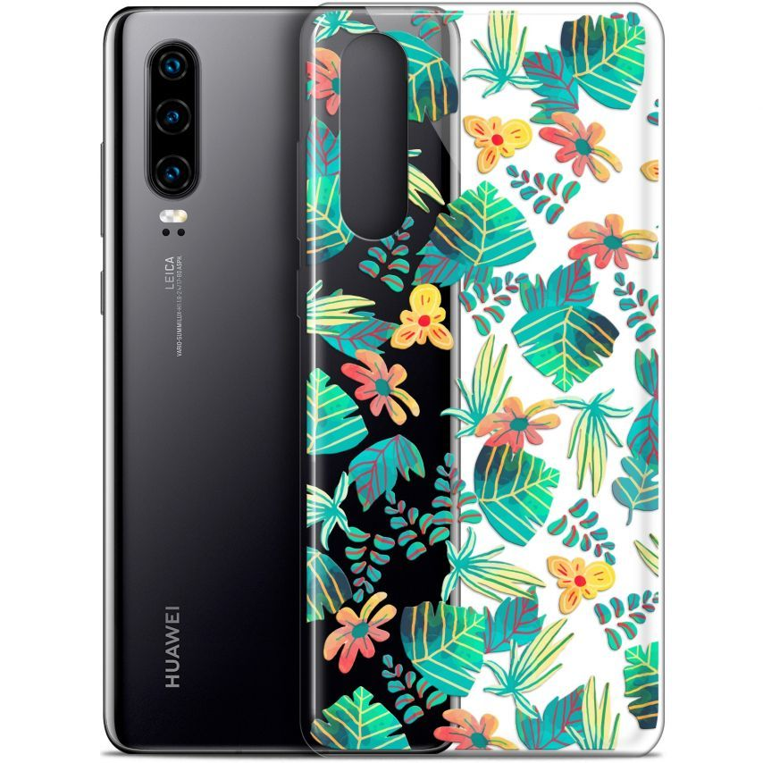 "Coque Gel Huawei P30 (6.1"") Extra Fine Spring - Tropical"