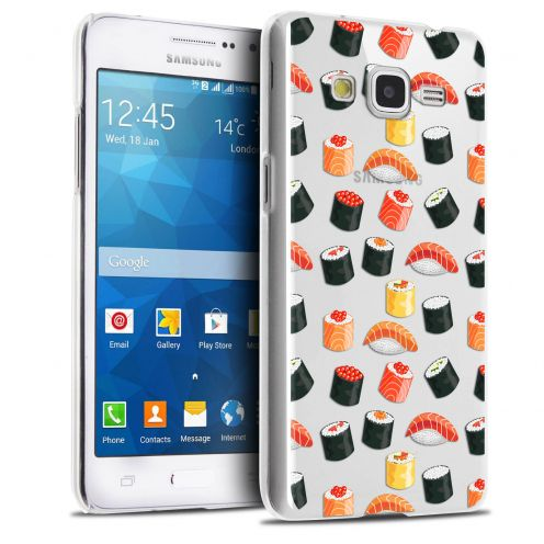 Coque Crystal Galaxy Grand Prime Extra Fine Foodie - Sushi