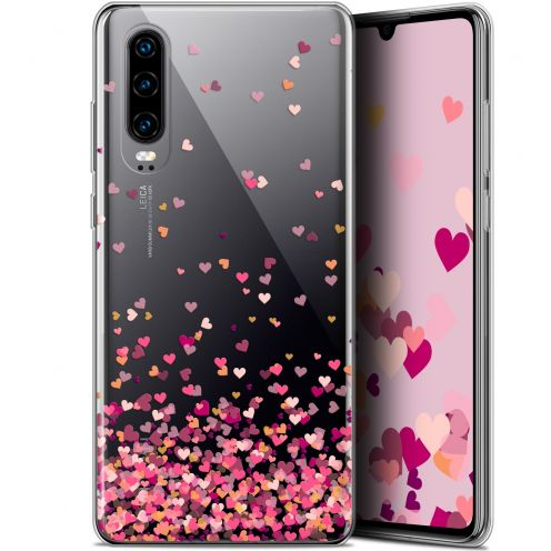 "Coque Gel Huawei P30 (6.1"") Extra Fine Sweetie - Heart Flakes"