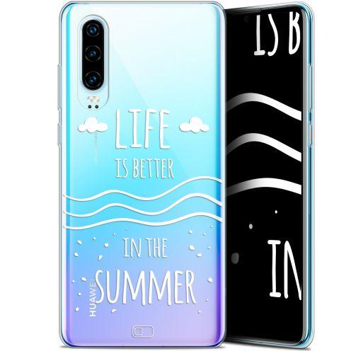 "Coque Gel Huawei P30 (6.1"") Extra Fine Summer - Life's Better"