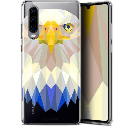 "Coque Gel Huawei P30 (6.1"") Extra Fine Polygon Animals - Aigle"