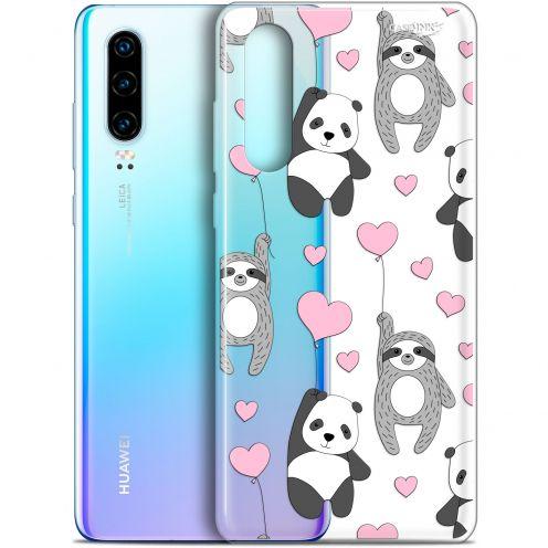 """Coque Gel Huawei P30 (6.1"""") Extra Fine Motif - Panda'mour"""
