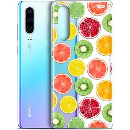 "Coque Gel Huawei P30 (6.1"") Extra Fine Motif -  Fruity Fresh"