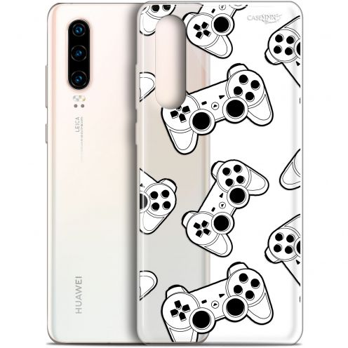 "Coque Gel Huawei P30 (6.1"") Extra Fine Motif -  Game Play Joysticks"
