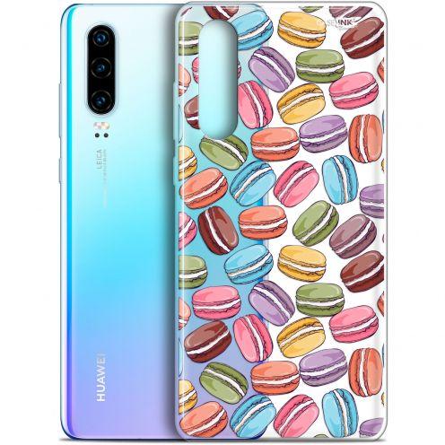 """Coque Gel Huawei P30 (6.1"""") Extra Fine Motif - Macarons"""