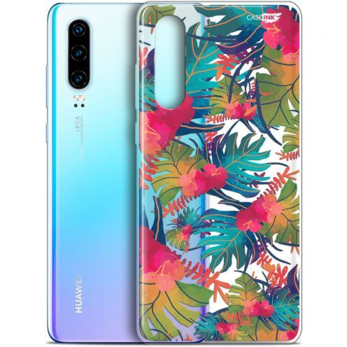 """Coque Gel Huawei P30 (6.1"""") Extra Fine Motif - Couleurs des Tropiques"""