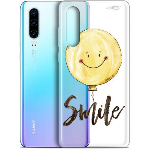 "Coque Gel Huawei P30 (6.1"") Extra Fine Motif -  Smile Baloon"