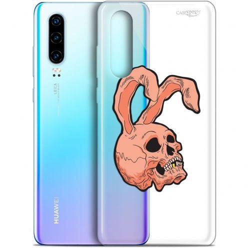 "Coque Gel Huawei P30 (6.1"") Extra Fine Motif -  Rabbit Skull"
