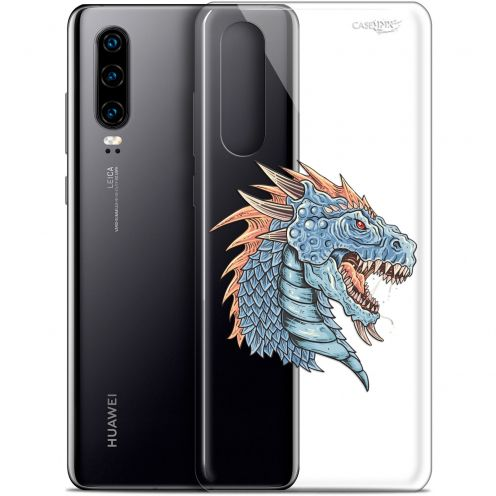 "Coque Gel Huawei P30 (6.1"") Extra Fine Motif -  Dragon Draw"
