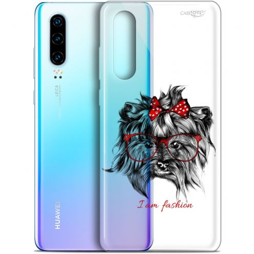 "Coque Gel Huawei P30 (6.1"") Extra Fine Motif -  Fashion Dog"