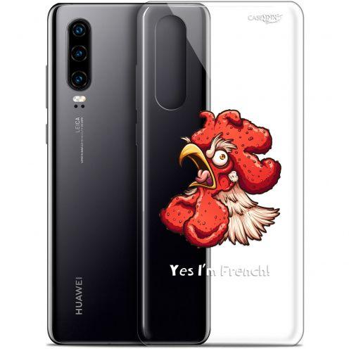 """Coque Gel Huawei P30 (6.1"""") Extra Fine Motif -  I'm French Coq"""