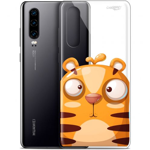 "Coque Gel Huawei P30 (6.1"") Extra Fine Motif - Cartoon Tiger"