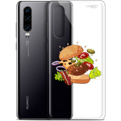 "Coque Gel Huawei P30 (6.1"") Extra Fine Motif -  Splash Burger"