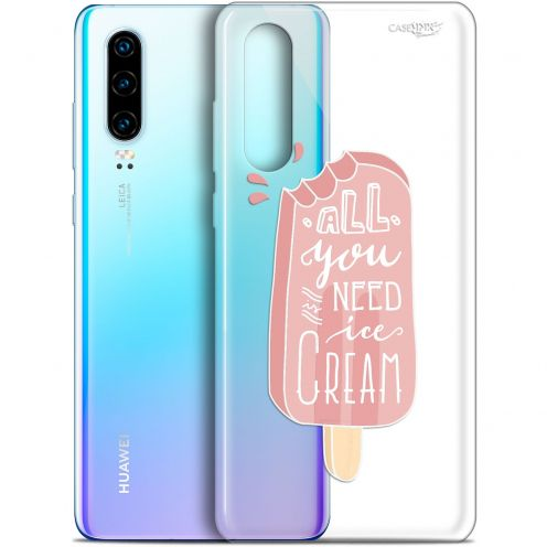 "Coque Gel Huawei P30 (6.1"") Extra Fine Motif -  Ice Cream"