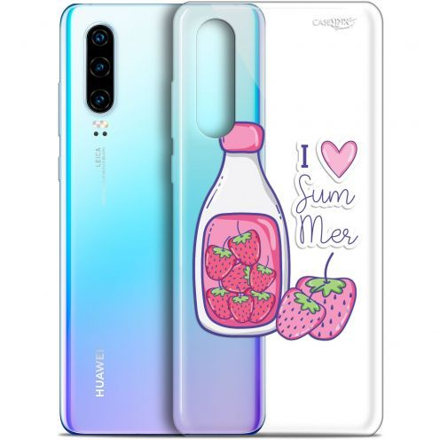 "Coque Gel Huawei P30 (6.1"") Extra Fine Motif - Milky Summer"