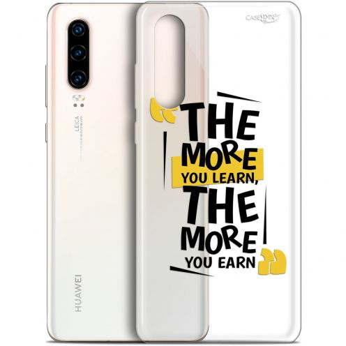 "Coque Gel Huawei P30 (6.1"") Extra Fine Motif -  The More You Learn"