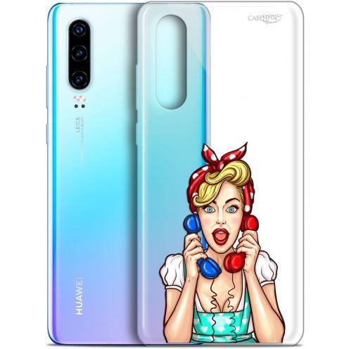 """Coque Gel Huawei P30 (6.1"""") Extra Fine Motif - Calling Girl"""