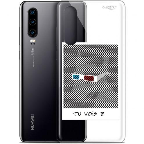 "Coque Gel Huawei P30 (6.1"") Extra Fine Motif - Tu Vois ce que Je Vois ?"
