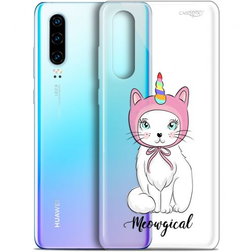 "Coque Gel Huawei P30 (6.1"") Extra Fine Motif - Ce Chat Est MEOUgical"