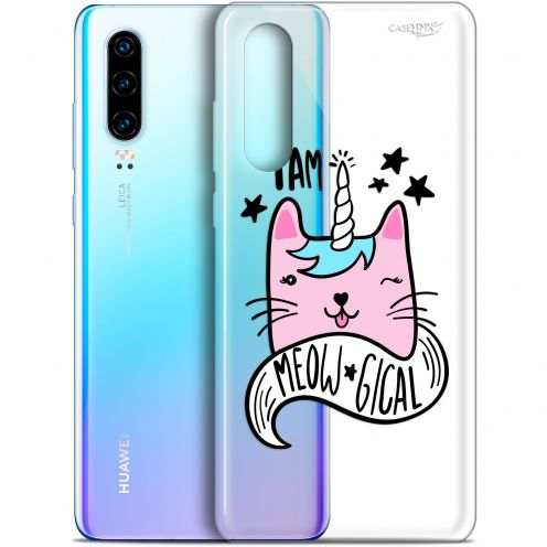 "Coque Gel Huawei P30 (6.1"") Extra Fine Motif -  I Am MEOUgical"